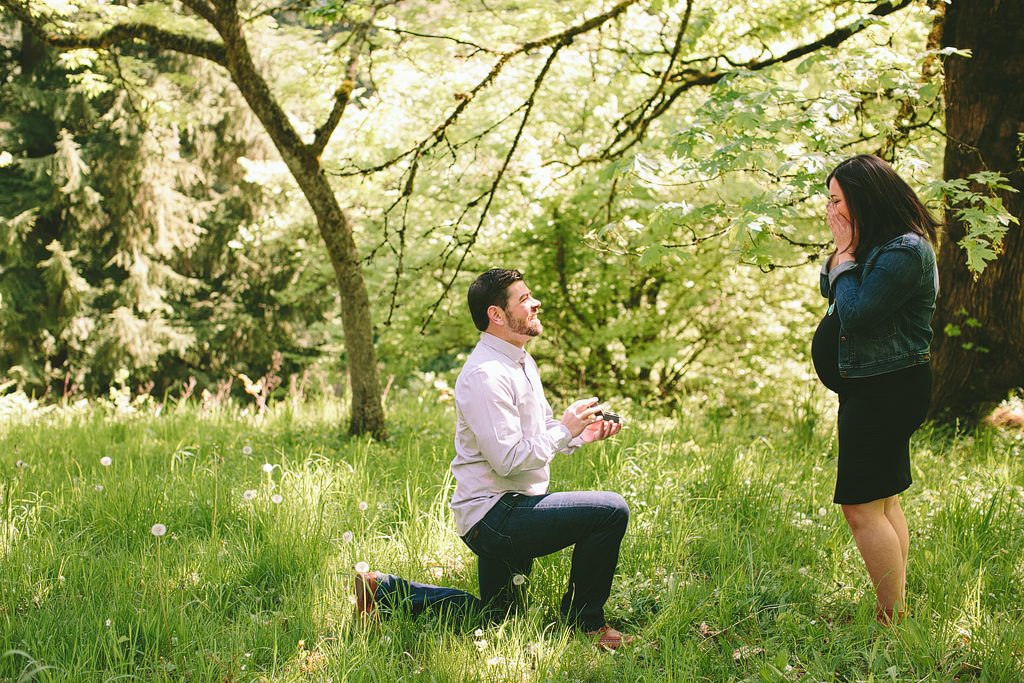 Portland Maternity Photographer, Surprise Proposal Photos, Maternity Photos (1)