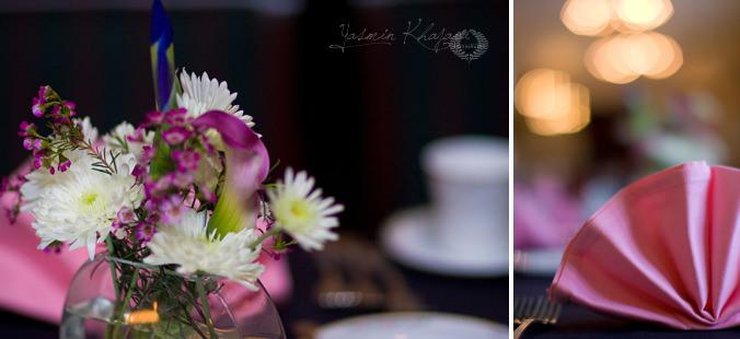 flowers at the fashion show table, Yasmin Khajavi Photography, Portland, OR, Portland Wedding Photographer, Destination Wedding Photographer, Portland Portrait Photographer, Portland Commercial Photographer, Portland Family Photographer, Portland Fashion Photographer, Portland Boudoir Photographer, San Francisco Wedding Photographer, Seattle Wedding Photographer, Oahu Wedding Photographer