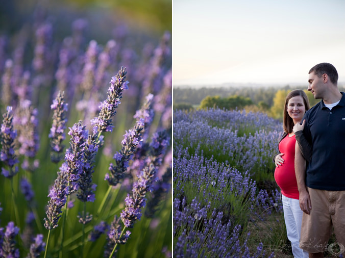 Yasmin Khajavi Photography, Portland Wedding Photographer, Portland Maternity Photography, Portland Family Photography, Ashley and Brian's Maternity Session, Lavender Field