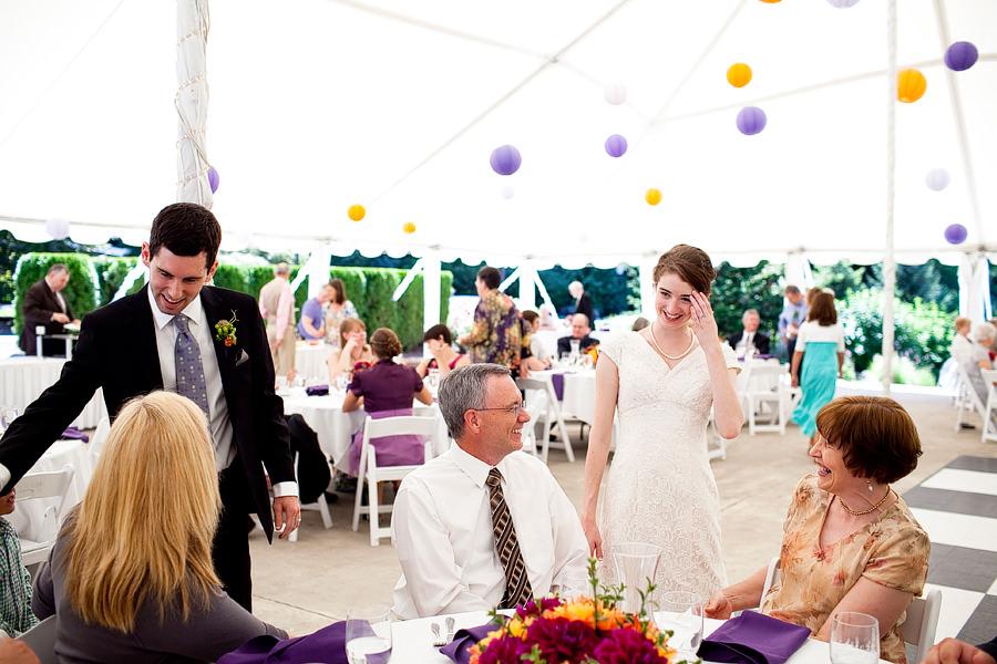 Abernethy Center Wedding Photos
