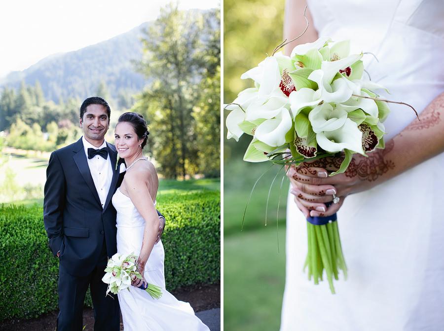 Resort at the Mountain Wedding Photos