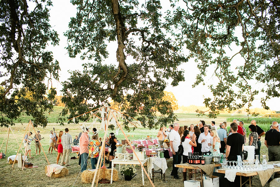 Kruger Farm Sauvie Island Wedding Photos