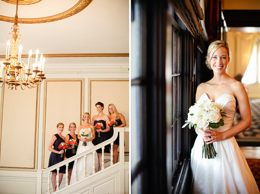 St Patrick's Cathedral Church Wedding Photos and University Club of Portland Wedding Photos (2)