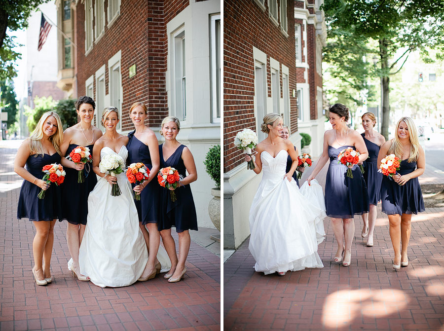St Patrick's Cathedral Church Wedding Photos and University Club of Portland Wedding Photos (4)