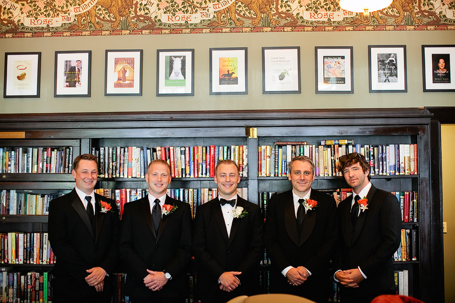 St Patrick's Cathedral Church Wedding Photos and University Club of Portland Wedding Photos (7)