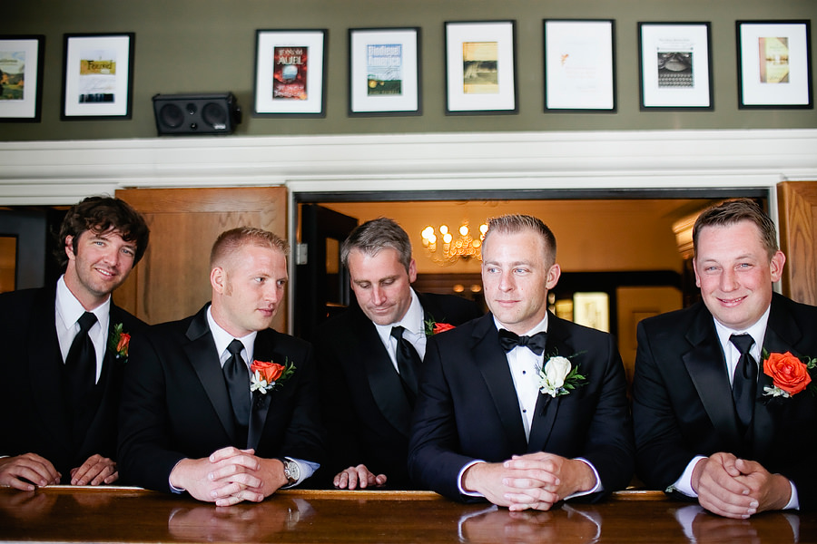 St Patrick's Cathedral Church Wedding Photos and University Club of Portland Wedding Photos (8)