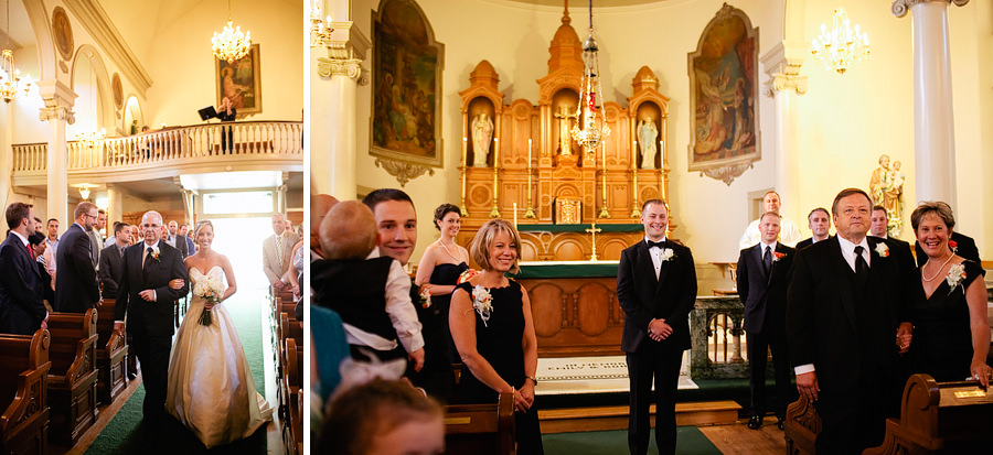 St Patrick's Cathedral Church Wedding Photos and University Club of Portland Wedding Photos (9)