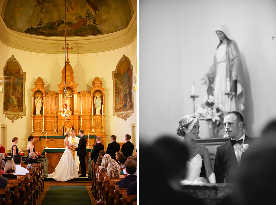 St Patrick's Cathedral Church Wedding Photos and University Club of Portland Wedding Photos (10)