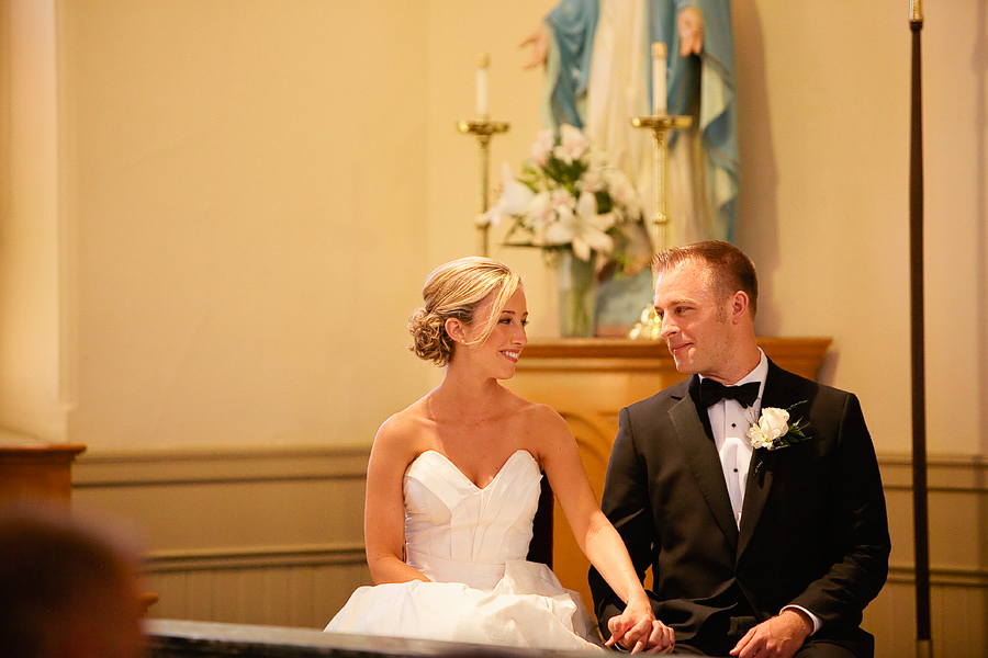 St Patrick's Cathedral Church Wedding Photos and University Club of Portland Wedding Photos (11)
