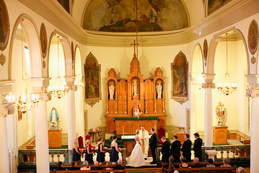 St Patrick's Cathedral Church Wedding Photos and University Club of Portland Wedding Photos (13)