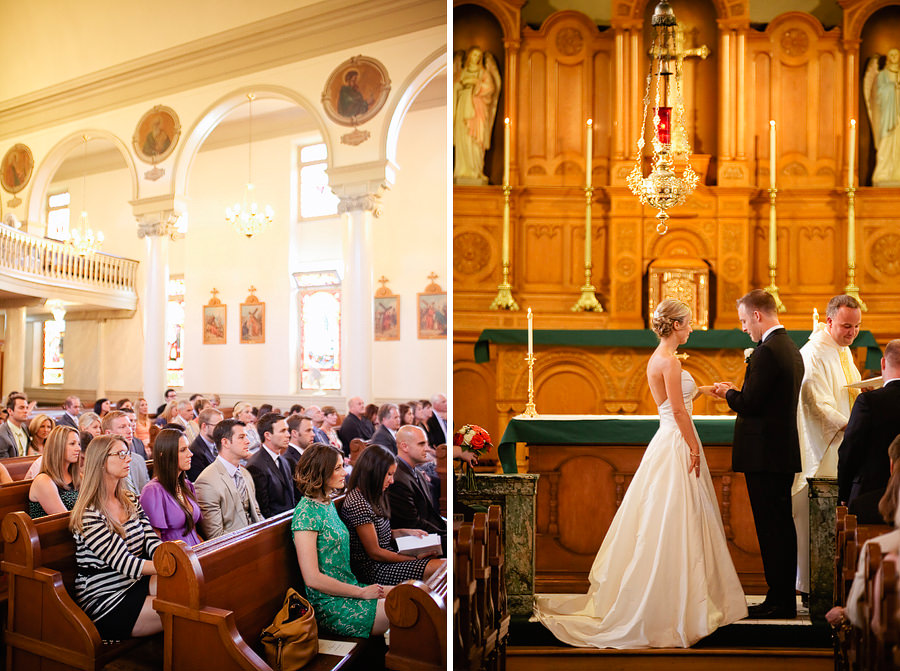 St Patrick's Cathedral Church Wedding Photos and University Club of Portland Wedding Photos (15)