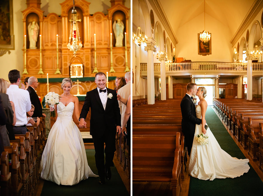 St Patrick's Cathedral Church Wedding Photos and University Club of Portland Wedding Photos (18)