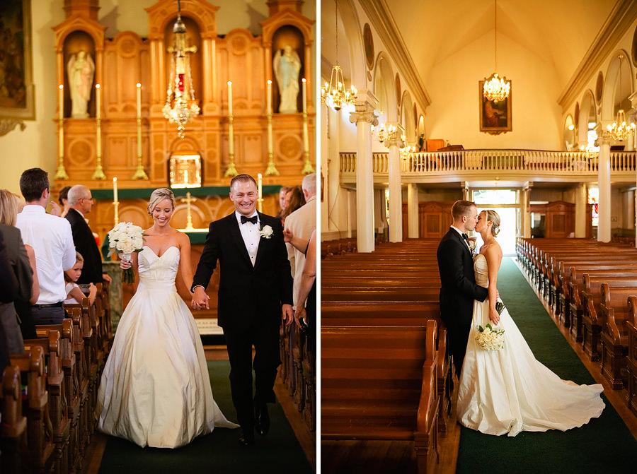 St Patrick's Cathedral Church Wedding Photos and University Club of Portland Wedding Photos (18)