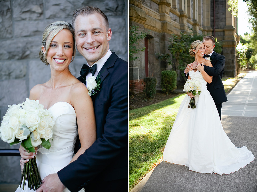 St Patrick's Cathedral Church Wedding Photos and University Club of Portland Wedding Photos (19)