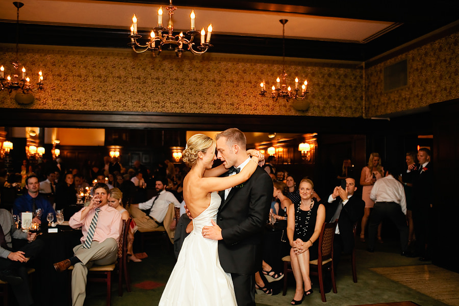 St Patrick's Cathedral Church Wedding Photos and University Club of Portland Wedding Photos (33)