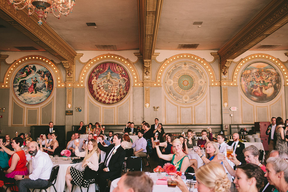 McMenamins Crystal Ballroom Wedding Photos