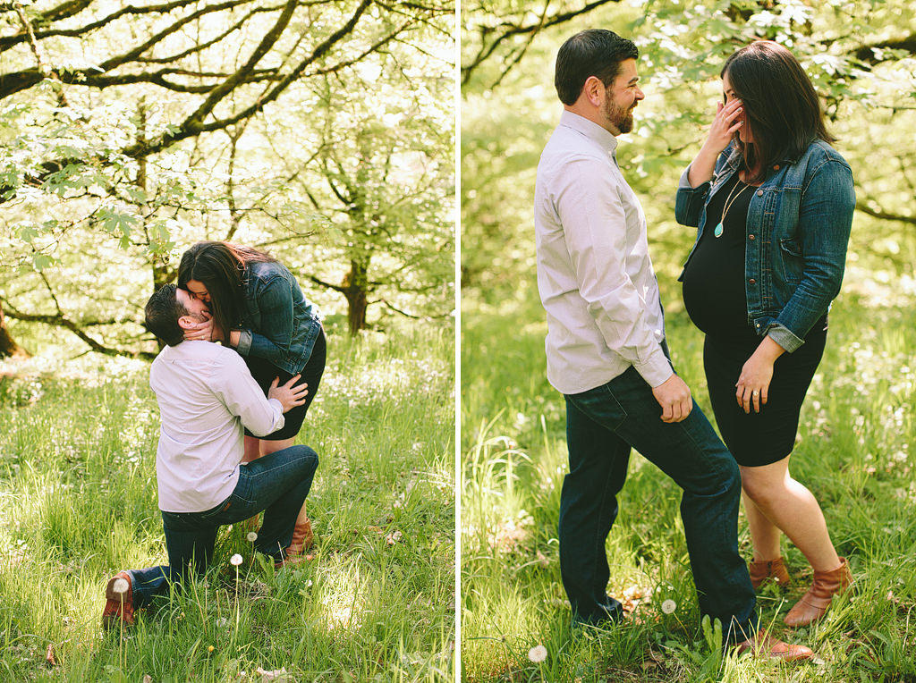 Portland Maternity Photographer, Surprise Proposal Photos, Maternity Photos (2)